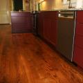 Stained Red Oak Hardwood Floors