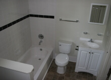 final bathroom renovation