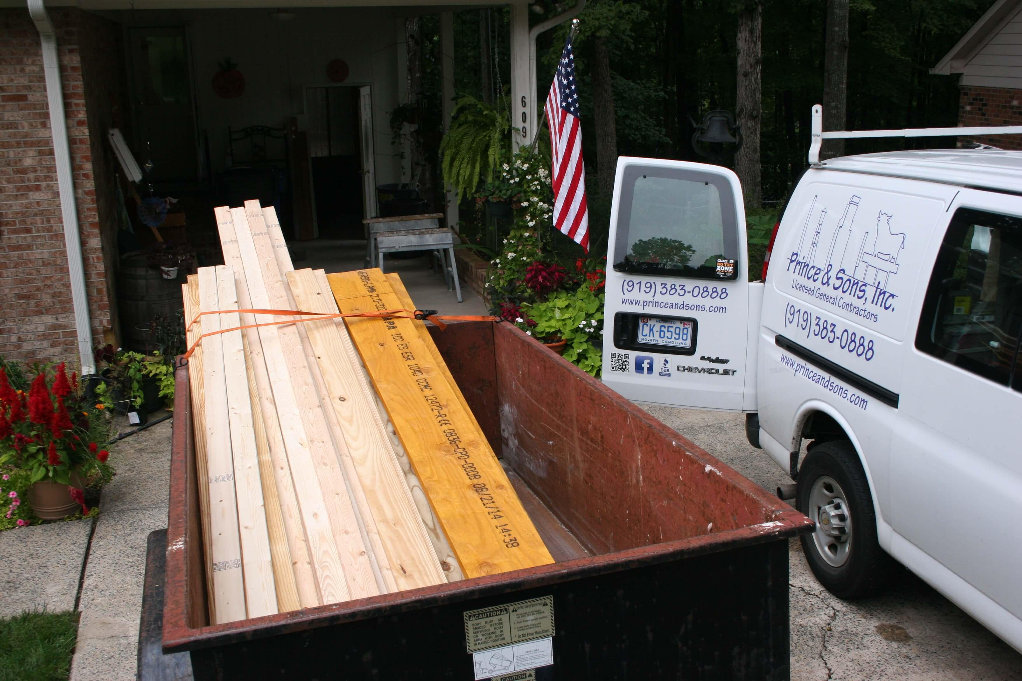 general contractors materials