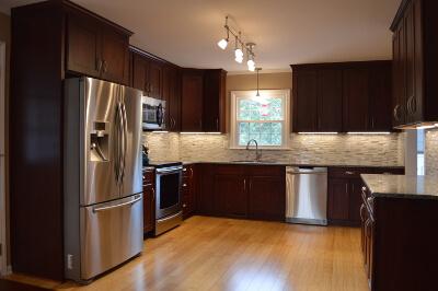 kitchen remodel after shot