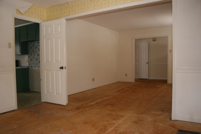 before dining area