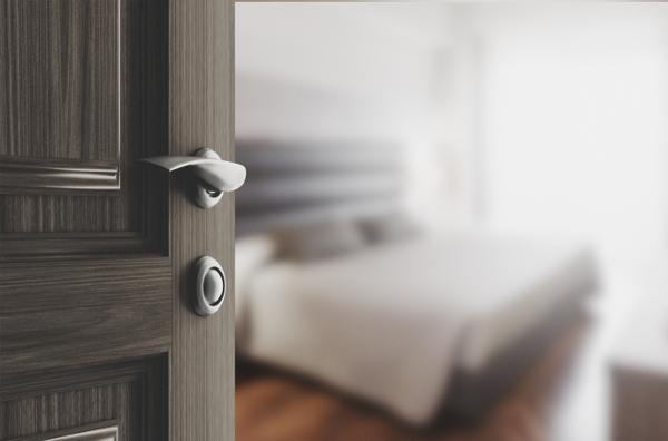 updated door hardware