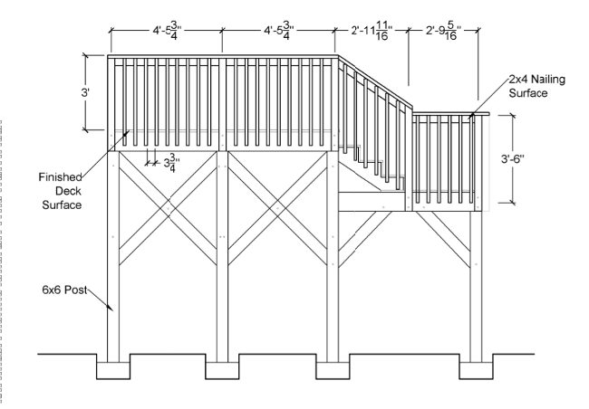 cad design deck renovation