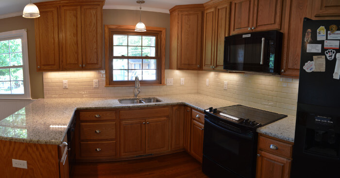 final kitchen remodel picture 2