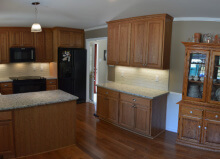 final kitchen remodel picture