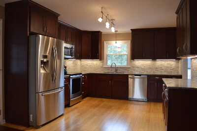 kitchen remodel after shot