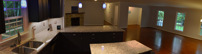 kitchen countertops and backsplash