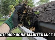 Exterior Home Maintenance