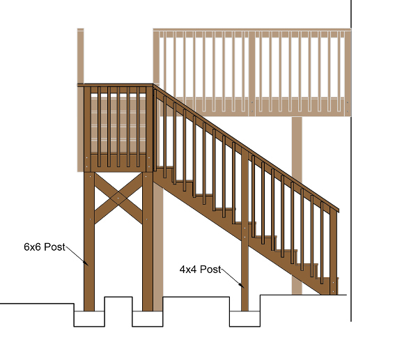 deck cad design