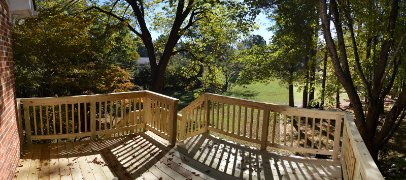 Panoramic Deck View