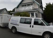 Prince & Sons Van at Bald Head Island