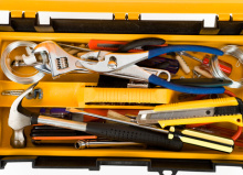 yellow toolbox