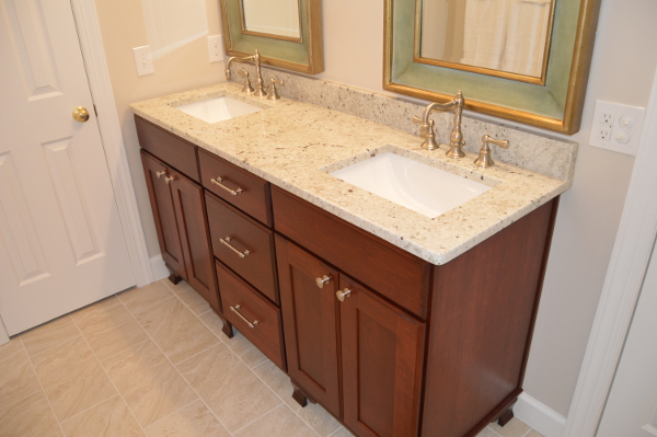 After Shot of Master Bath Vanity