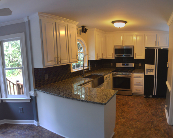 Durham kitchen renovation after shot
