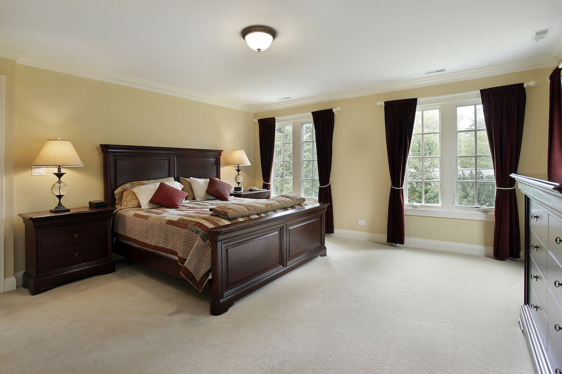 first floor master bedroom
