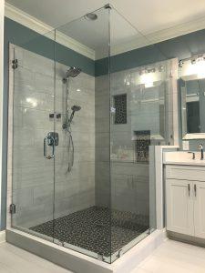 Dated Master Bathroom Gets Major Facelift